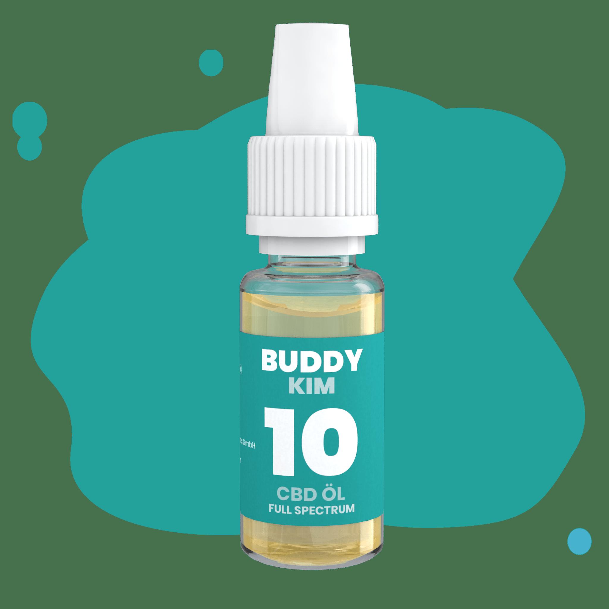 buddy cbd öl mit 10% in dropperflasche kim