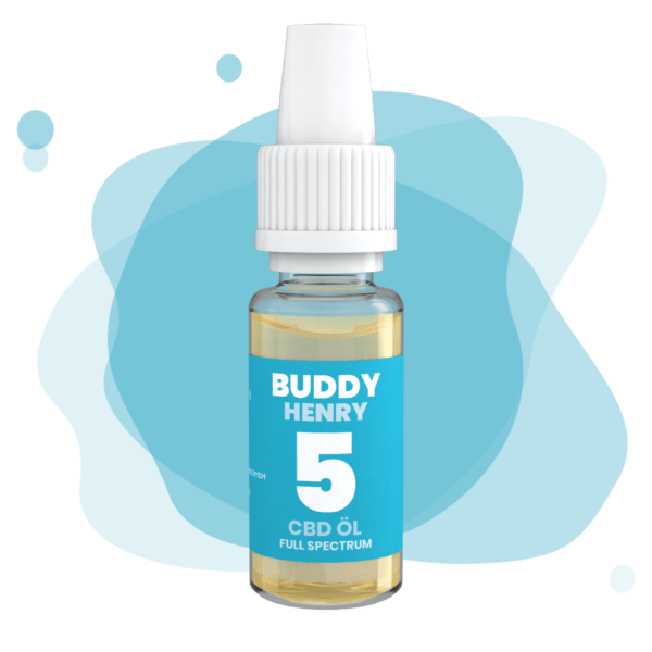 buddy cbd öl full spectrum 5%