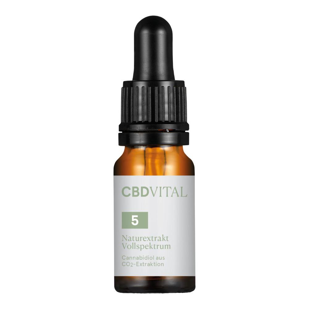 CBD Öl CBD Vital Naturextrakt Vollspektrum 5% - 10ml