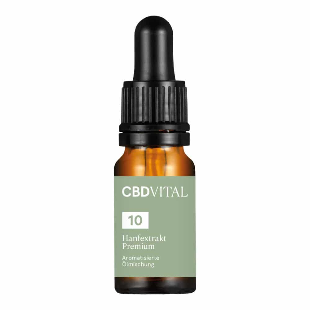 CBD Aromaöl CBD Vital Hanfextrakt Premium 10% - 10ml