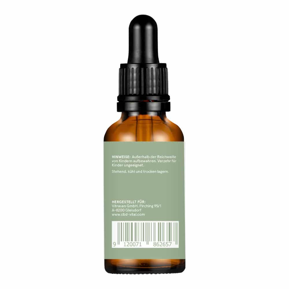 CBD Aromaöl CBD Vital Hanfextrakt Premium 10% - 30ml