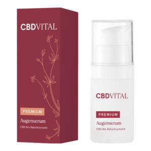 cbd vital premium Augenserum creme