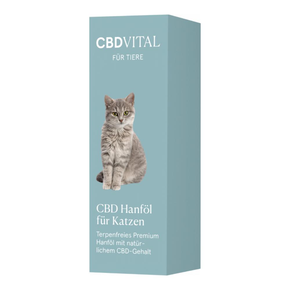 CBD Vital CBD Hanföl für Katzen - 20ml