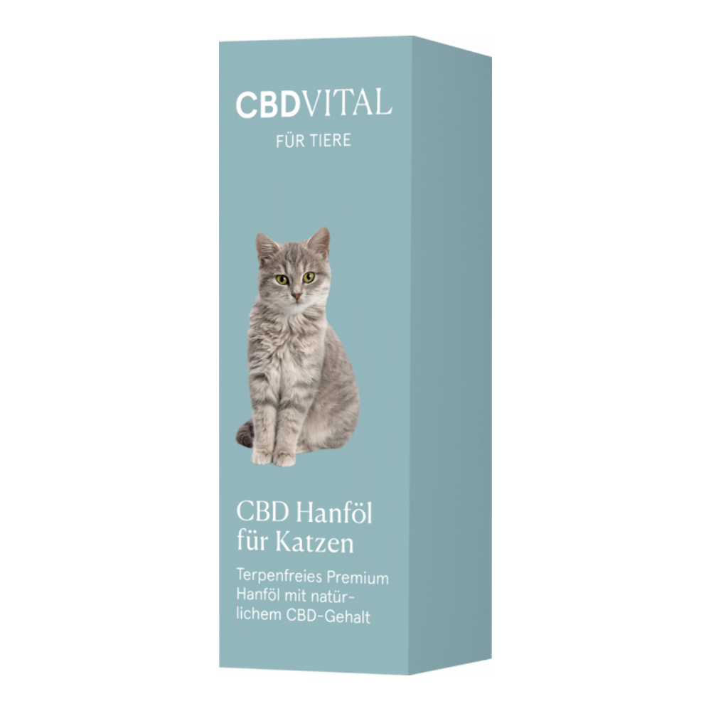 CBD Vital CBD Hanföl für Katzen - 10ml