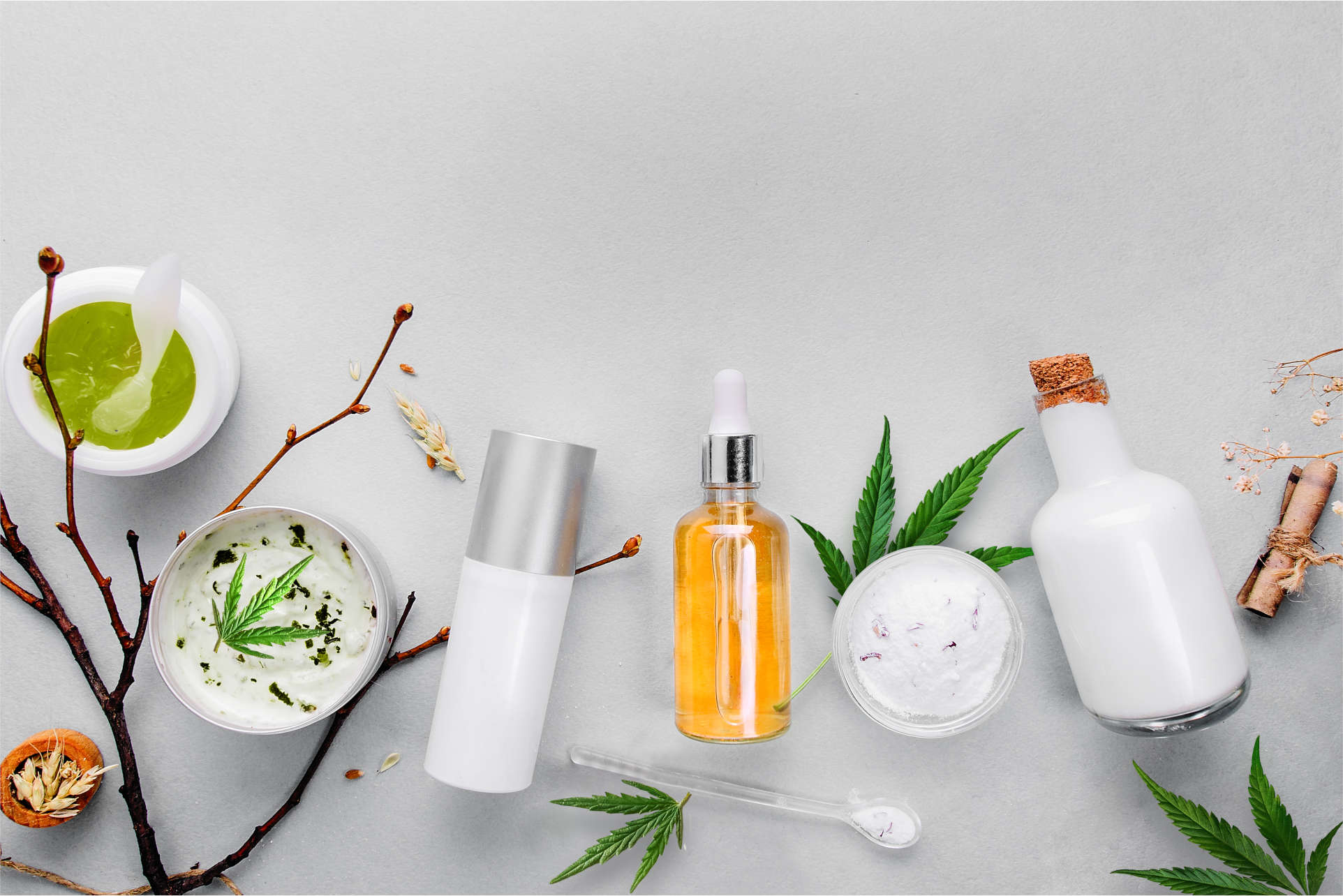CBD Kosmetik Produkte und CBD Creme
