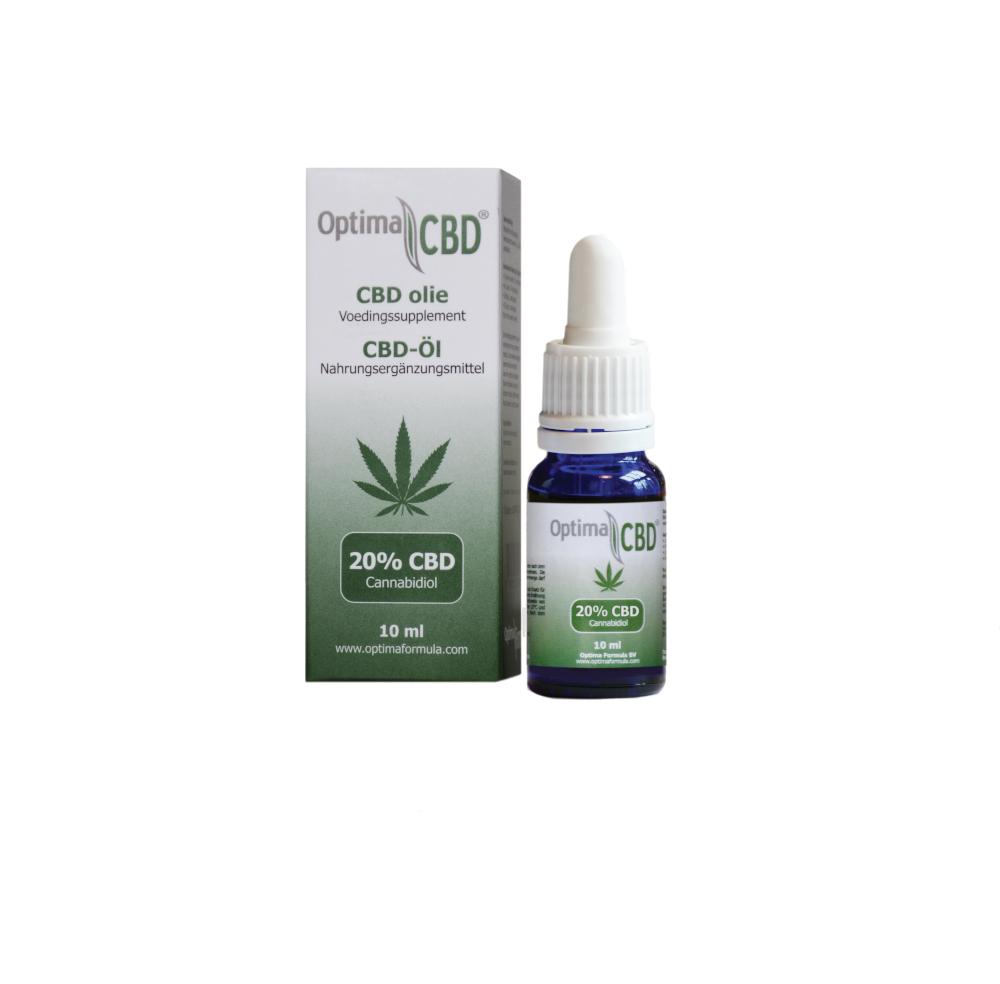 Bio CBD HanfÖl Isolat von Optima Formula 20% auf CBD-Einkaufsladen