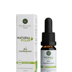 BioBloom Bio CBD Öl Natural Four 4%