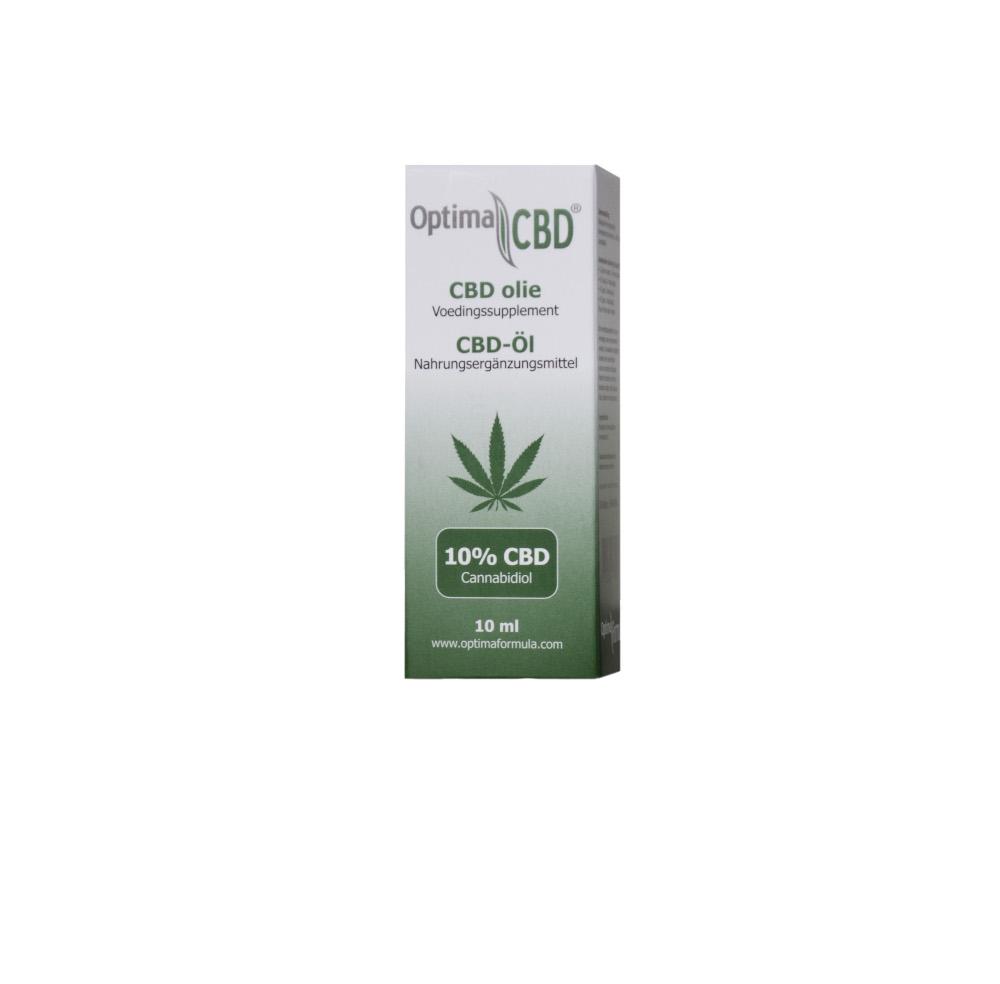 CBD öl isolat von optima formula 10