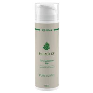 Herbliz pure cbd lotion creme