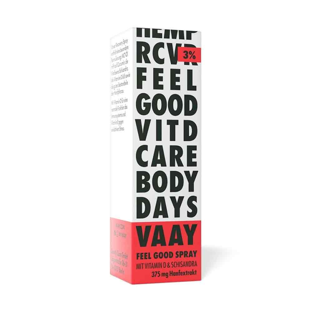 VAAY CBD Mundspray mit Schisandra und curcumin verpackung