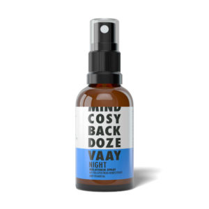 VAAY Night CBD Spray flasche