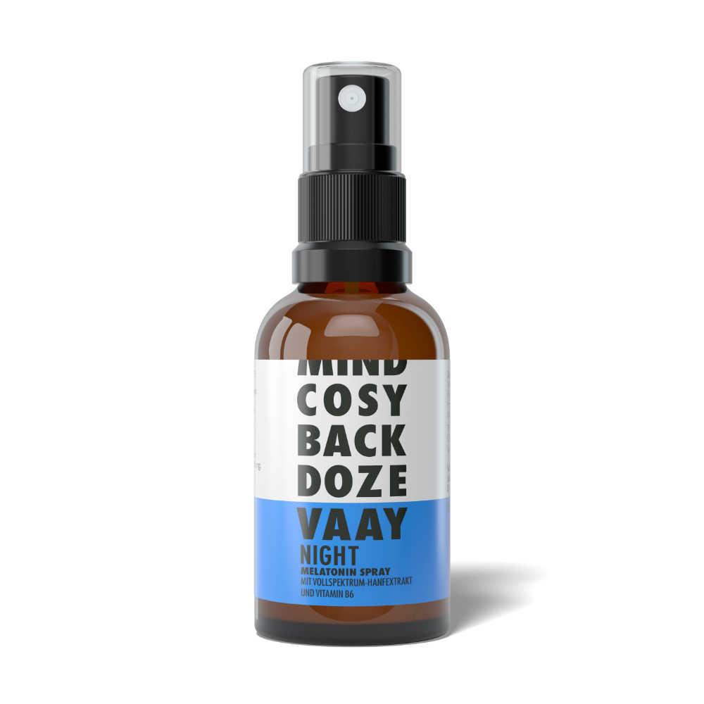 VAAY Night CBD Spray flasche