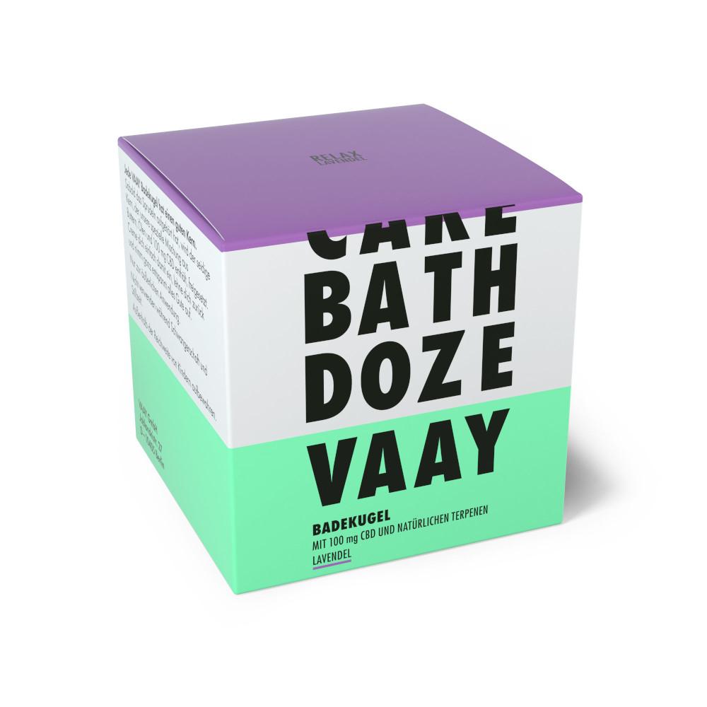 vaay cbd badekugeln verpackung
