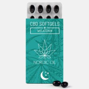 cbd kapseln nordic oil softgels melatonin