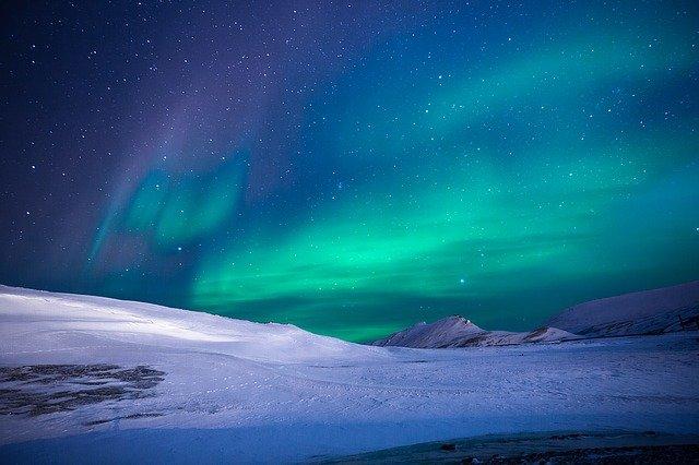 aurora night light
