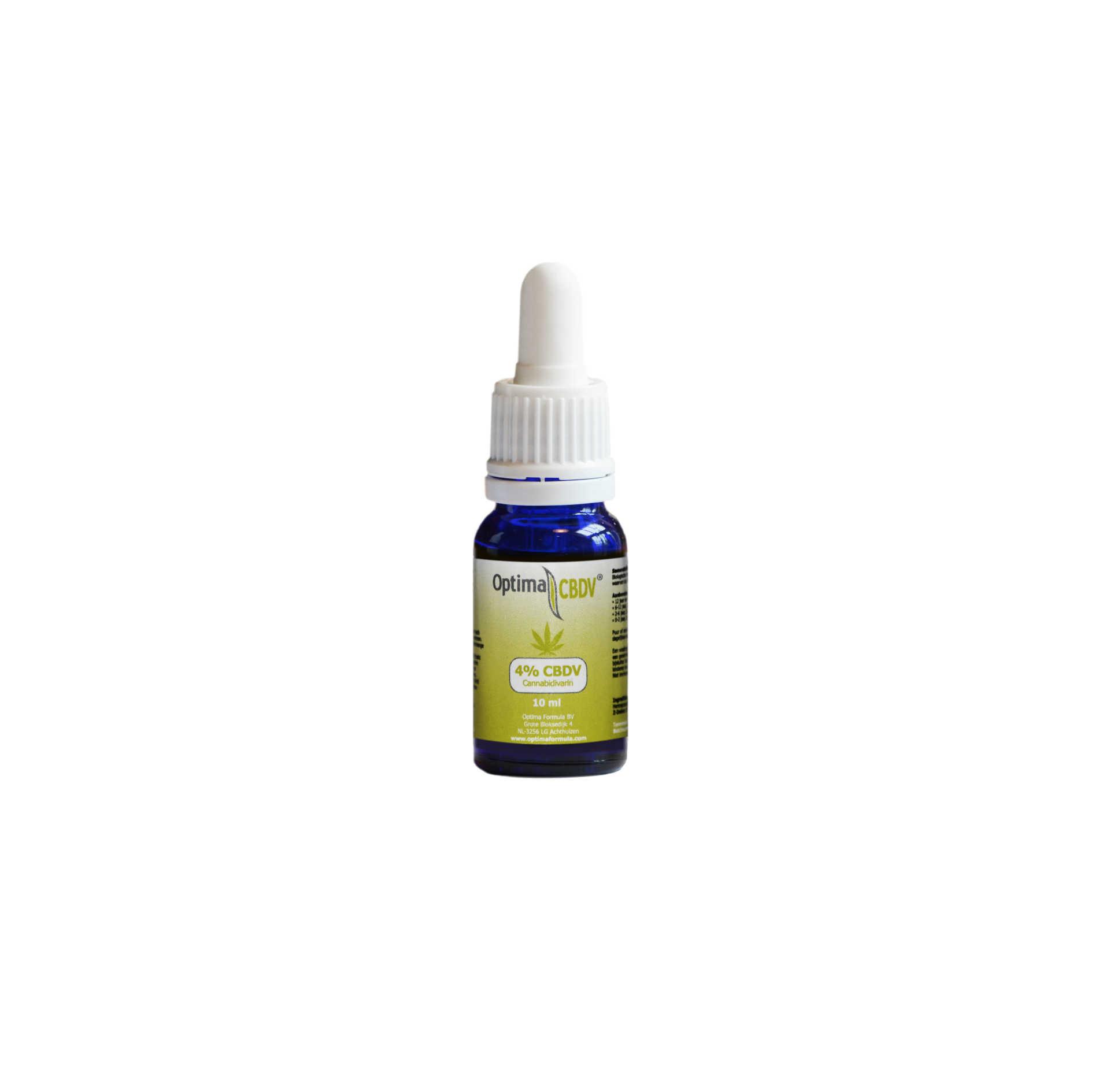 CBDV Öl optima Formula flasche